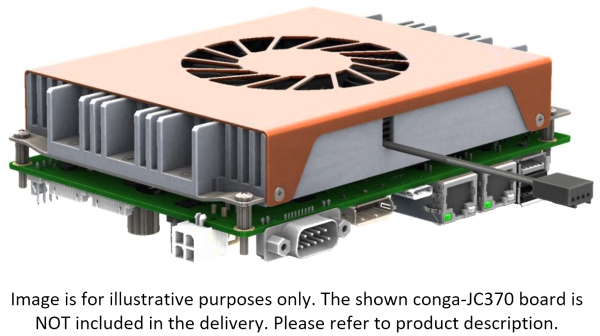 Active Cooling Solution conga-JC370/CSA-T