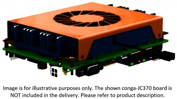 Aktive Kühllösung conga-JC370/CSA-T