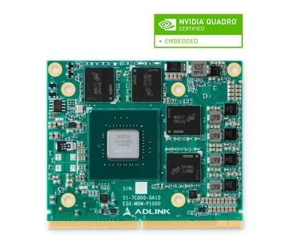 EGX-MXM-P1000 - ADLINK MXM GPU Modul mit NVIDIA® Quadro® Embedded P1000