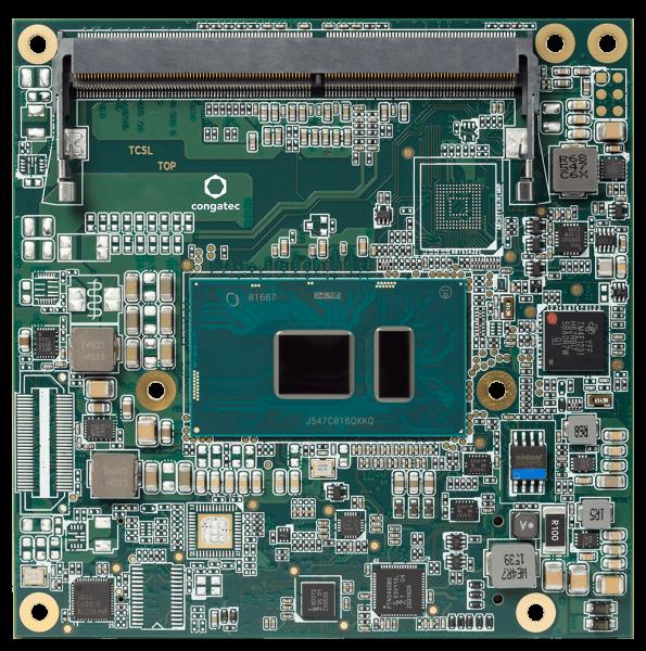 conga-TC175/i7-7600U - COM Express Compact Core i7
